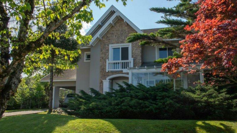 Casa em condomínio à venda  no Buena Vista Village - Gramado, RS. Imóveis